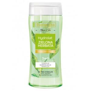 BIELENDA GREEN TEA LINE Гидролат 3 в 1 Зеленый чай, 200 мл