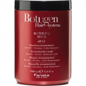 ВОССТАНАВЛИВАЮЩАЯ МАСКА ДЛЯ ЛОМКИХ И ПОВРЕЖДЕННЫХ ВОЛОС Fanola Botugen Hair system Botolife 1000 МЛ