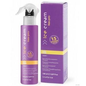 "Выпрямляющий, разглаживающий спрей для волос ""Liss-pro"" 15 в 1 Liss One Smoothin Spray 150 мл"