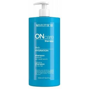 Шампунь увлажняющий Selective OnCare Daily Hydration Shampoo, 1000 мл