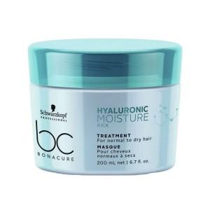 Маска увлажняющая для нормальных и сухих волос BC Hyaluronic Moisture Kick Schwarzkopf, 200 мл