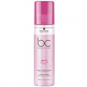 Спрей-кондиционер для окрашенных волос Сияние Цвета BC pH 4.5 Color Freeze Spray Conditioner Schwarzkopf, 200 мл