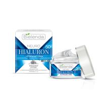 BIELENDA NEURO HIALURON Подтягивающий крем для лица день/ночь 50+, 50 мл