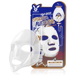 ELIZAVECCA Тканевая маска д/лица с Эпидермальным фактором EGF DEEP POWER Ringer, 1 шт