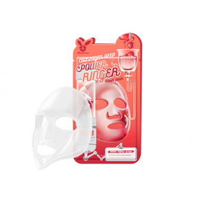 ELIZAVECCA Тканевая маска д/лица с Коллагеном COLLAGEN DEEP POWER Ringer mask pack 1шт