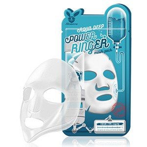 ELIZAVECCA Тканевая маска д/лица Увлажняющая AQUA  DEEP POWER Ringer mask pack, 1шт