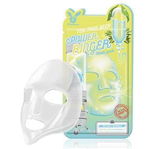 ELIZAVECCA Тканевая маска д/лица Чайное Дерево TEA TREE DEEP POWER Ringer mask pack, 1шт